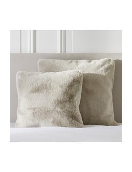 Faux Fur Cushion Cover by The White Company