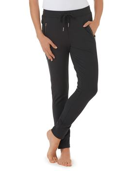 Zip Detail Jogger Pants by The White Company