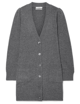 Wool And Cashmere Blend Cardigan by Co