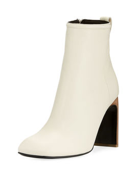 Ellis Leather Ankle Boot by Neiman Marcus