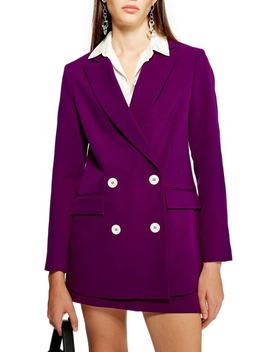 Eliza Suit Jacket by Topshop