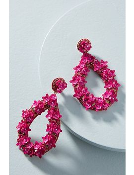 Blushing Bouquet Drop Earrings by Deepa