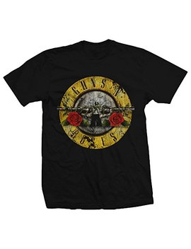 Bravado Guns N Roses Distressed Bullet Lightweight T Shirt by Bravado