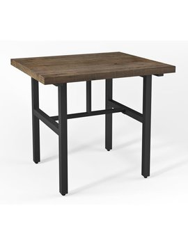 """Alaterre Pomona 36""""H Reclaimed Wood Counter Height Dining Table by Alaterre"""