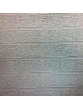 Graham & Brown Brick Paintable Wallpaper by Graham & Brown