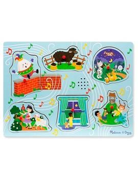 Melissa & Doug® Nursery Rhymes 2   Sound Puzzle 6pc by Melissa & Doug