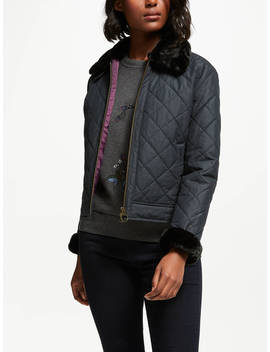 Barbour Tetbury Quilted Jacket, Black by Barbour