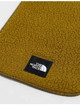 The North Face Denali Fleece Scarf In Green by The North Face