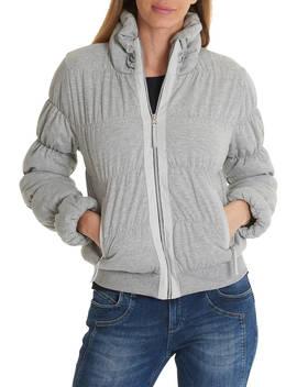 Betty Barclay Padded Jacket, Light Silver Melange by Betty Barclay