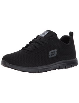 Skechers Women's, Ghenter Bronaugh Lace Up Work Shoes by Skechers