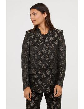 Jacquard Patterned Blazer by H&M