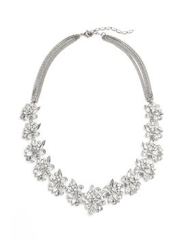 Crystal Collar Necklace by Cristabelle