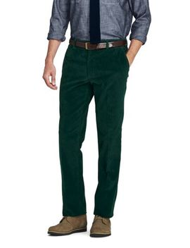 Men's Tailored Fit Comfort First 10 Wale Corduroy Trousers by Lands' End
