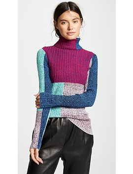 Mixed Marled Turtleneck by 3.1 Phillip Lim