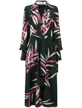 Plunge Wrap Front Dress by Dvf Diane Von Furstenberg