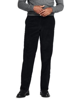 Men's Traditional Fit Comfort First 10 Wale Corduroy Trousers by Lands' End