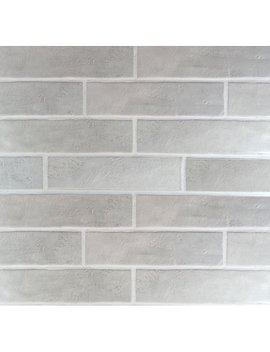 "Mulia Tile Loft 4"" X 16"" Ceramic Subway Tile In Gray & Reviews by Mulia Tile"
