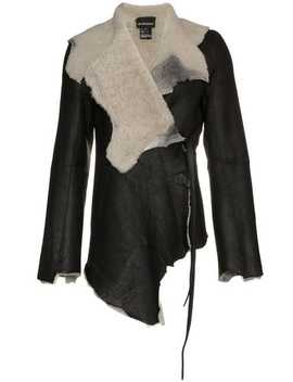 Shearling Lined Leather Jacket by Ann Demeulemeester