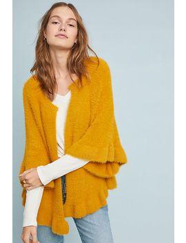 Marigold Ruffled Kimono by Anthropologie