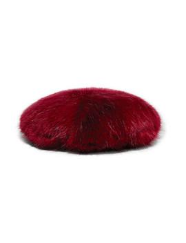 Faux Fur Beret by Emma Brewin