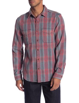 Embroidered Plaid Classic Fit Shirt by Current/Elliott