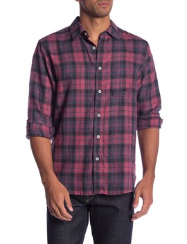Plaid Classic Fit Shirt by Current/Elliott