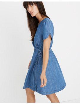 Denim Wrap Dress by Madewell