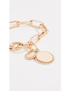 Medallion Link Bracelet by Rebecca Minkoff