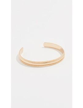Bead Edge Cuff Bracelet by Rebecca Minkoff