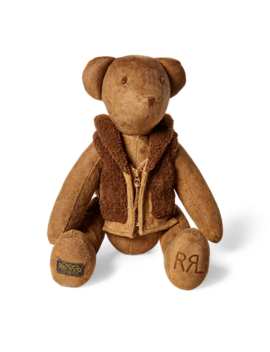 Limited Edition Suede Bear by Ralph Lauren