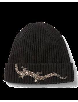 Beaded Gecko Watchman Hat by Ralph Lauren
