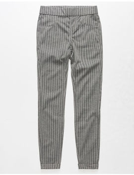 Vanilla Star Stripe Trouser Girls Leggings by Vanilla Star