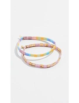 Tilu Set Of 2 Bracelets by Shashi