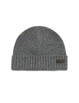 Lynton Stretch Wool Beanie by Barbour