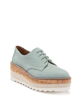 Jasmin Platform Oxford by Jane And The Shoe