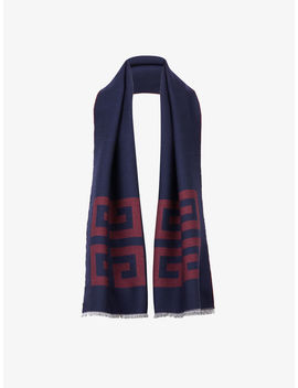 Double 4 G Wool Woven Scarf by Givenchy