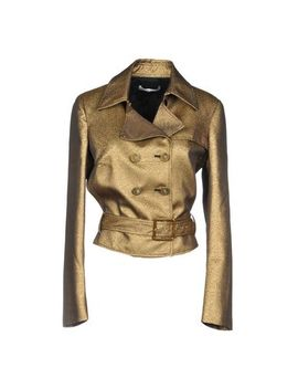 Versace Collection Double Breasted Pea Coat   Coats & Jackets by Versace Collection