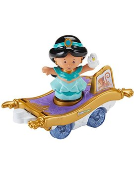 Fisher Price Little People Disney Princess Parade Jasmine & Abu's Float by Fisher Price