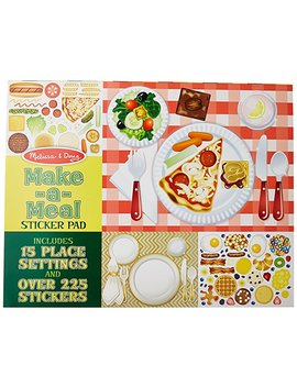 Melissa & Doug Sticker Pad   Make A Meal, 225+ Food Stickers by Melissa & Doug