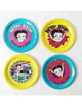 Betty Boop Tin Trays by Etsy