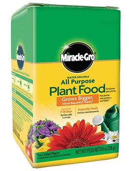 Miracle Gro Water Soluble All Purpose Plant Food by Miracle Gro