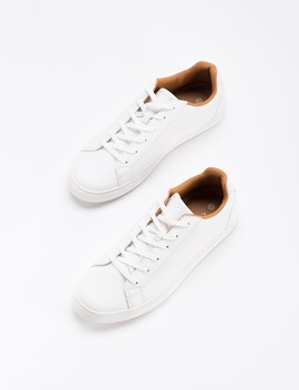 White Sneakers With Contrasting Sole by Castro