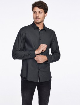 Textured Button Down Shirt by Castro