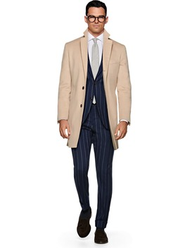 Light Brown Coat Jort by Suitsupply