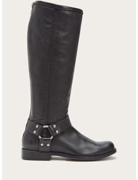 Phillip Harness Tall Wide Calf by Frye