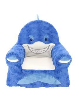 Sweet Seats® Plush Shark Chair In Blue by Bed Bath & Beyond