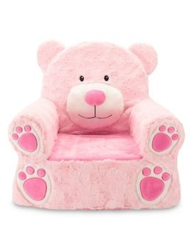 Sweet Seats® Plush Bear Chair In Pink by Bed Bath & Beyond