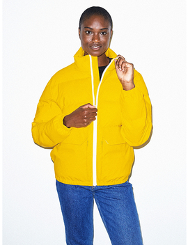 Unisex Duckie Puffer Jacket by American Apparel