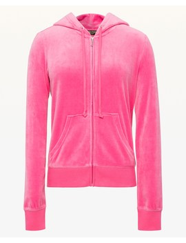 Luxe Crown Velour Robertson Jacket by Juicy Couture
