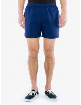 Crinkle Nylon Team Short by American Apparel
